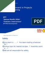 Risk Management Training Slides EPX 200xv2