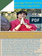 200 Hour Vinyasa Yoga Teacher Training Courses |Vinyasa Yoga School India|rys 200