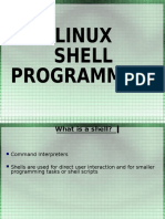 Linux Shell Programming