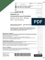June 2014 (R) QP - S1 Edexcel.pdf