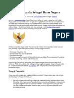 5 Fungsi Pancasila Sebagai Dasar Negara