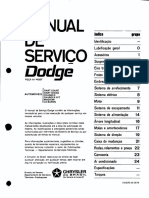 Catálogo de Cores e Siglas Opcionais Dodge Dart