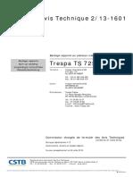 Bardage Rapporté Sur Plateaux Métalliques_Trespa TS 725