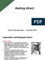 Marketing Direct - Curs 2
