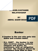 Lacture 2 Banker Customer Relation Ship