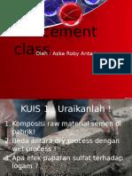 Pertemuan 2 - API Cement Class