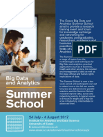Big Data Analytics Summer School 2017 - University of Essex