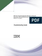 ITCAM for Microsoft Applications BizTalk Server Agent V6.3.1.2 Troubleshooting Guide