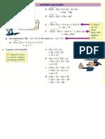 Detailed Revision Worksheets for Algebra Test Grade 7