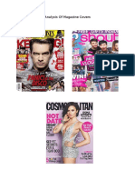 Analysis of Kerrrang Magazine Cover