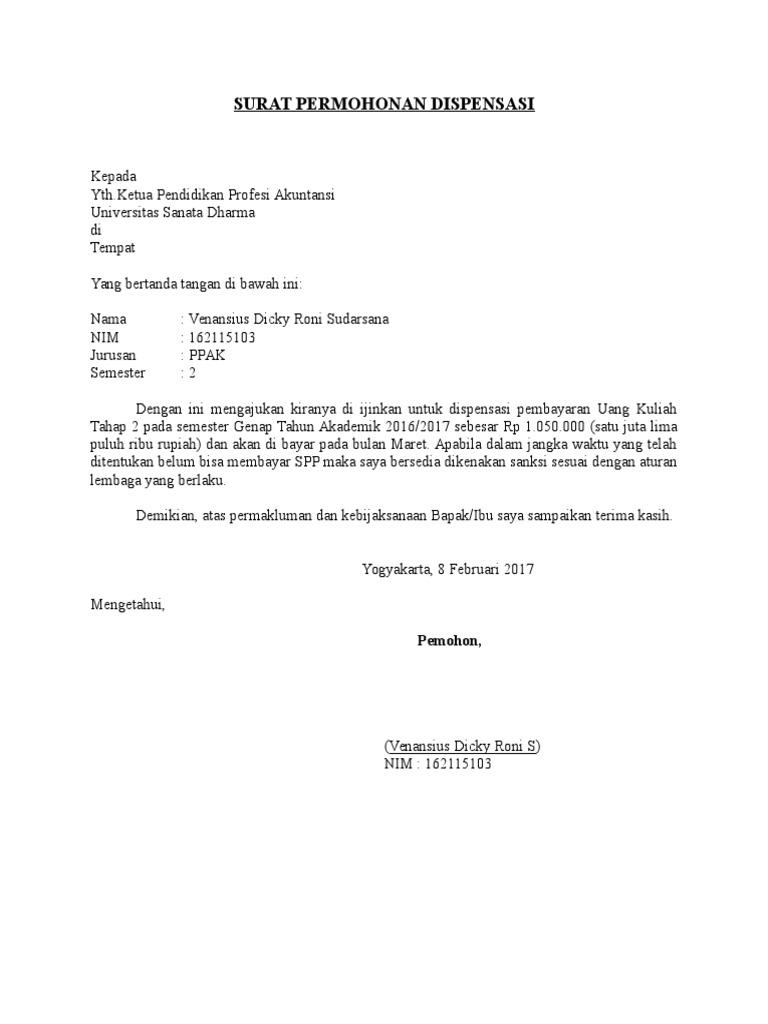Contoh Surat Permohonan Izin Kerja Malam