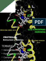 1ra Clase Proteinas 2014 BIOQUIMICA UNSA