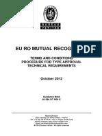 Ni 596 - Eu Ro Mutual Recognition