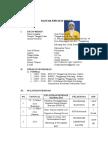 Daftar Riwayat Hidup (Cv)