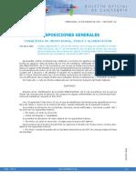 Cantabria 2017 Modificación Normativa de pesca continental (Marzo 2017)