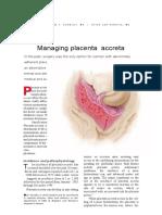 108867756 Management Placenta Accreta
