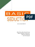 Basic Seduction PDF EBook Download-FREE