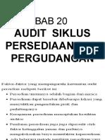 Bab 20 - Audit Siklus Persedian & PGudangan