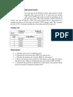 Capital Budgeting Maths