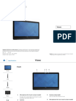 Inspiron 20 3052 Aio Reference Guide en Us