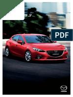 Brosura Noua Mazda3