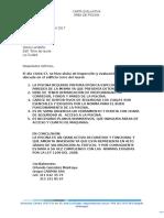 Carta de Evaluacion Piscina Edificio Del Laurel