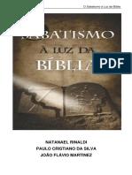 Sabatismo a Luz Da Biblia