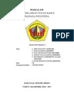 Makalah Bahasa Indonesia 2016 Bab 2