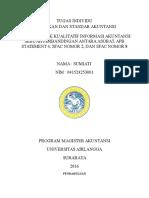 Karakteristik Kualitatif Informasi Akuntansi