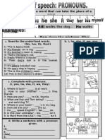 Parts of Speech - Pronouns (+8)