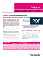 TAL 2-06 Speed Assessment Framework