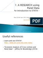 Lesson 1- A Research Using Panel Data-PTBNgoc