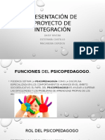 Presentación Funcion psicopedagoga