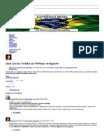 Mini System Toshiba Ms7860mus Desligando - Eletrônica Brasil