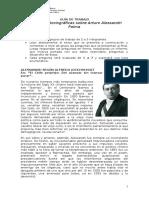 Guía Visiones Historiograficas Sobre Arturo Alessandri