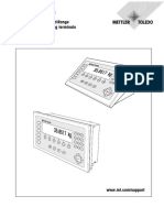Operating instructions METTLER TOLEDO MultiRange IND690-Base weighing terminals