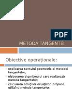 Metoda Tangentei