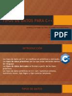 -Tipos de Datos Para c