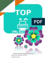 Impresoras recomendadas Marzo 2017