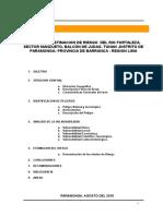 ESTIMACION DE RIESGO CUENCA DE RIO FORTALEZ PARAMONGA 1.doc