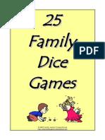 25 Family Dice Games n7v2