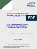 guia para la elaboracion del expediente tecnico de PSI
