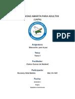 Actividades de La Unidad III EDC. PARA PAZ