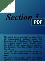 Section 5 Basic Measurements