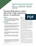 Treating Helicobacter Pylori Effectively While Minimizing Misuse of Antibiotics