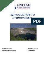 hydopower.docx
