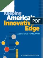 Keeping America's Innovative Edge