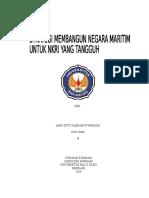 Makalah Strategi Membangun Negara Maritim Indonesia