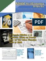 La Deuda Pública y el Producto Bruto en Puerto Rico en los Años Fiscales 1949 al 2009