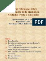 Bosque- Nuevas reflexiones sobre la enseñanza de la gramática. Actitudes frente a contenidos.pdf